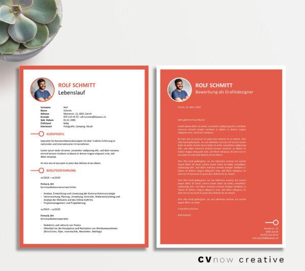 Bild CVnow Creative rot ms