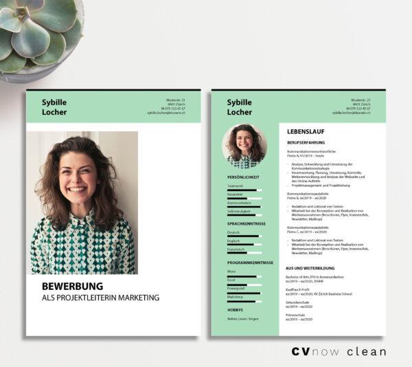 Bild CVnow Clean mint